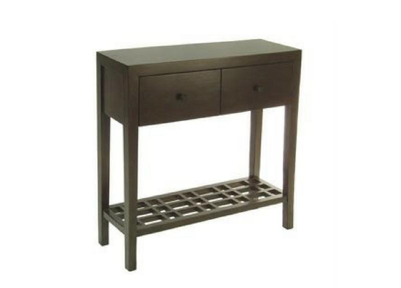 Metro Console Table 2-Drawer Three Chairs Ann Arbor Holland Mi
