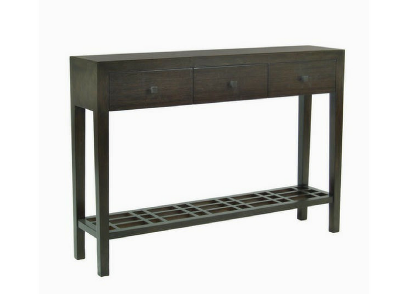 Metro Console Table 3-Drawer Three Chairs Ann Arbor Holland MI
