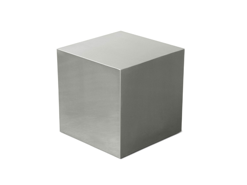 Stainless Steel Cube Three Chairs