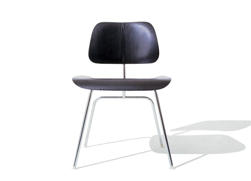 Eames Molded Plywood Dining Chair Metal Base