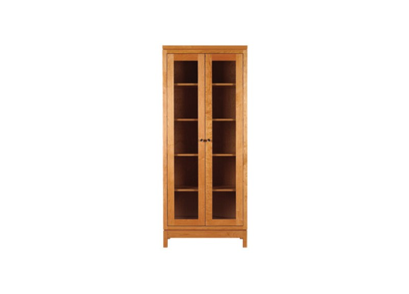 Franklin Tall Glass Door Bookcase
