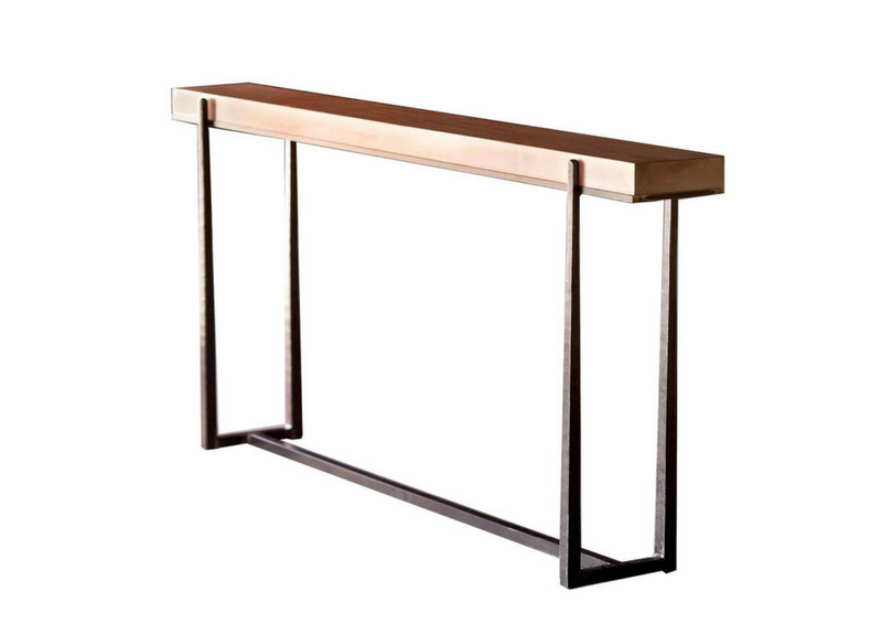 Charleston Forge Cooper 70 console Table Three Chairs Co