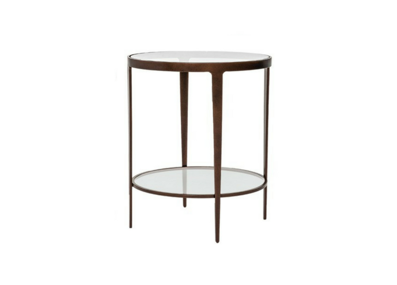 Ellipse End Table Three Chairs Ann Arbor Holland MI