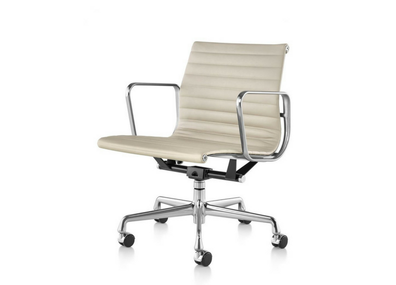 Eames Aluminum Group Management Chair Three Chairs Co Ann Arbor Holland Mi