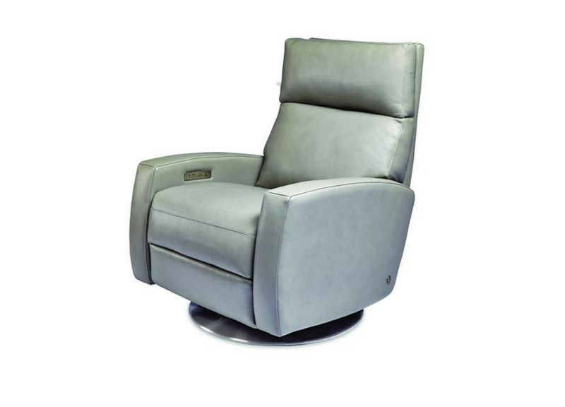 Perfect American Leather Elliot Comfort Recliner Swivel Base At