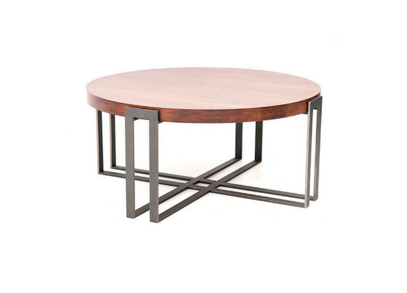 Find the Watson Round Cocktail Table at Three Chairs Co in our Ann Arbor, Holland Mi locations