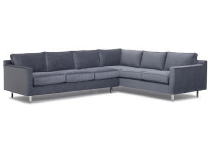Hunter Studio Sectional Sofa Three Chairs Co Holland Ann Arbor