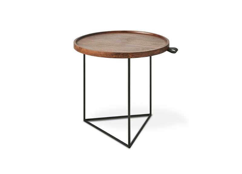 Porter End Table Walnut Three Chairs Co Ann Arbor Holland Michigan